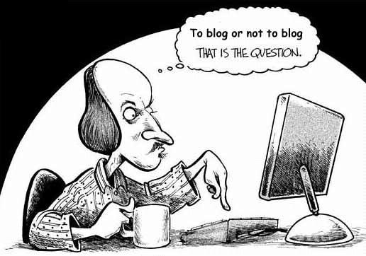 To Blog or not to Blog - Education. Image Courtesy: Microweber